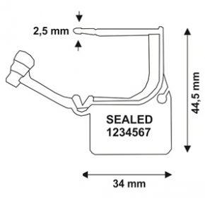 hangslot-verzegeling-calaide-seal-technische-tekening