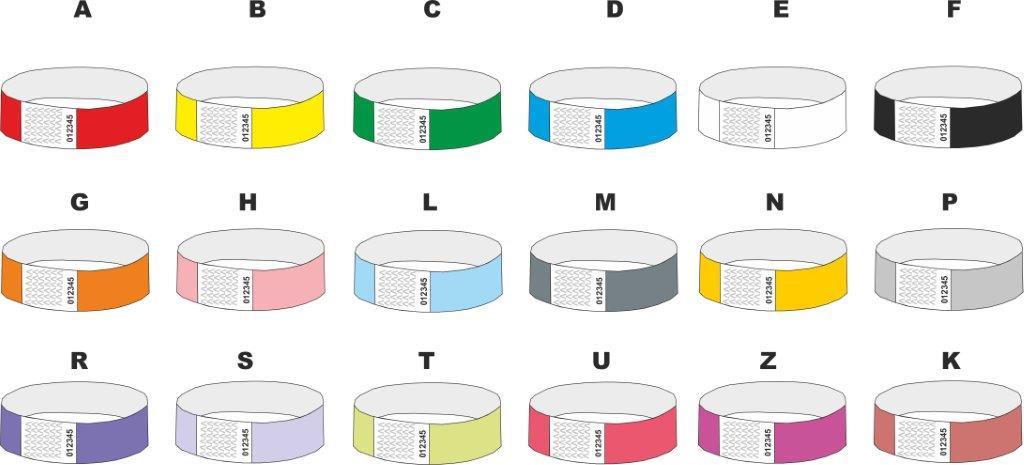 tyvek-polsbandjes-kleuren