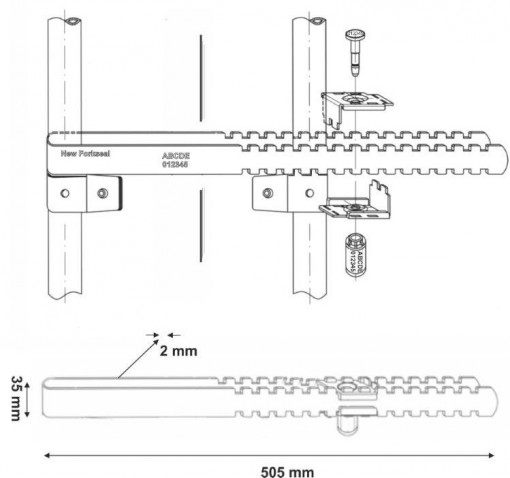 veiligheidszegels-new-forkseal-technische-tekening