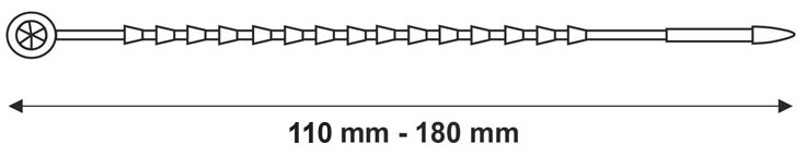 kabelbinders-arachne-seal-technische-tekening