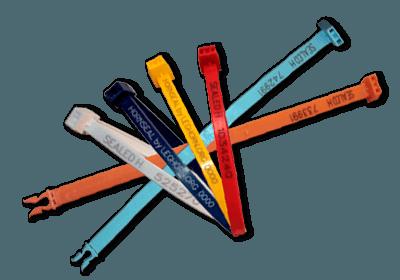 PLASTIC BANDVERZEGELING MET VASTE LENGTE