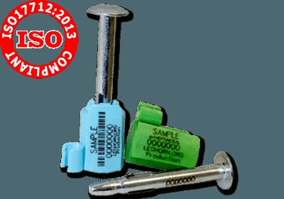 ISO 17712: 2013 VEILIGHEIDSZEGELS