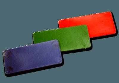 RECHTHOEKIGE PLASTIC  JETONS
