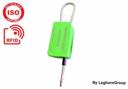 Three-state UHF RFID cable seal, MYRMIDON SEAL
