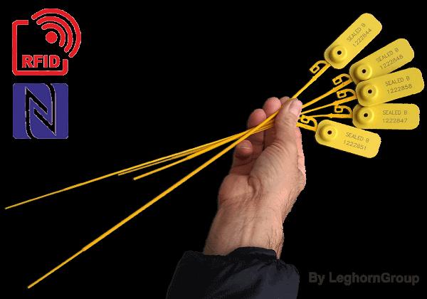 Aanrijgverzegeling UHF/HF/NFC RFID JUPITER SEAL