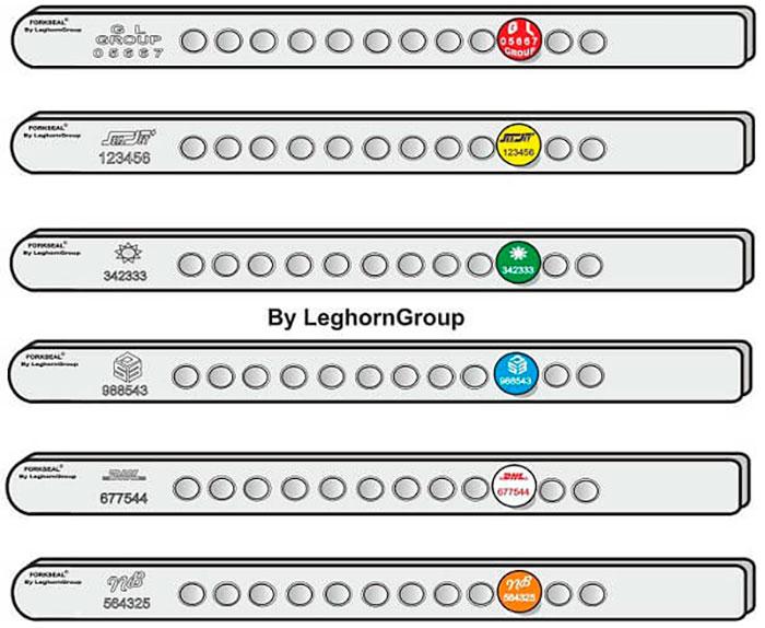barriere verzegelingen fork seal c kleuren personnalisaties