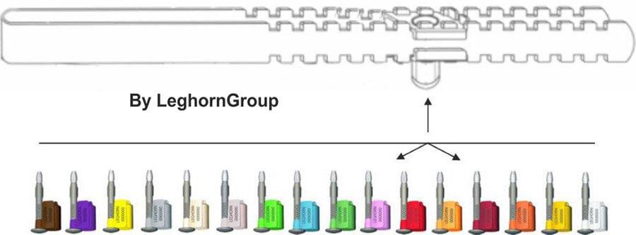 barriere verzegelingen new fork seal kleuren personnalisaties