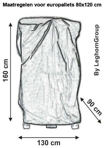 bologna beschermhoes voor pallets technische tekening
