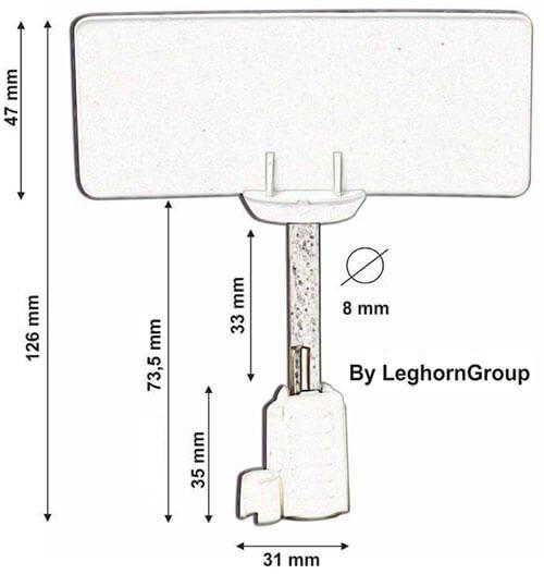 bolt seal verzegeling rfid neptune seal technische tekening