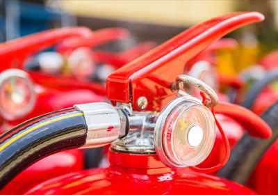 brandblusapparaten en onderhoud