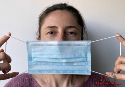 elastieken voor mondmaskers