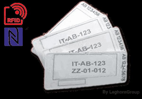 Identificatie Verzegeling UHF RFID PALLET ZEGEL