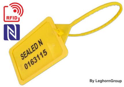 kunststof veiligheidszegels rfid titan seal 5×424 mm