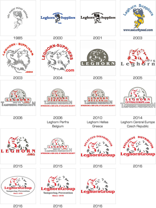 leghorngroup logo evolution