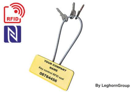 rfid beveiligde sleutelhouder type kabelverzegeling