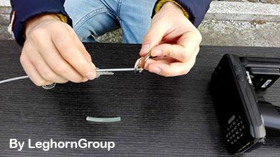 rfid sleutelhouder kabelverzegeling hoe te gebruiken