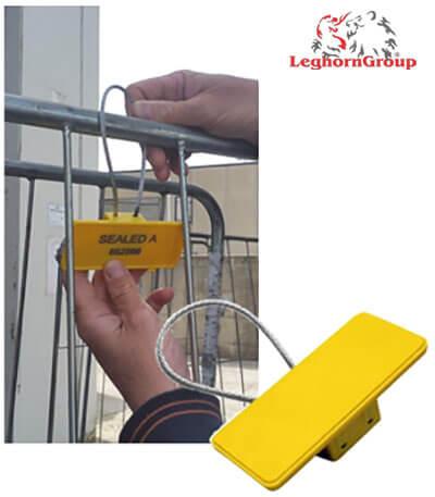 rfid cable seal rolcontainer voorbeelden van gebruik