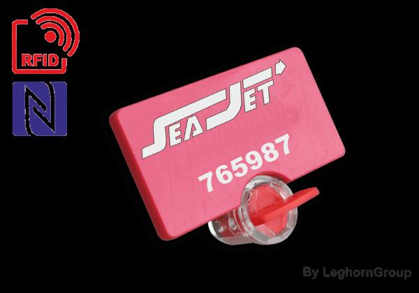 UHF/HF/NFC RFID Meterzegel TWIST SEAL