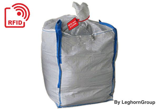 RFID-verzegelingen Voor Het Beheer En De Traceerbaarheid Van Industriële Slibzakken En Big Bags
