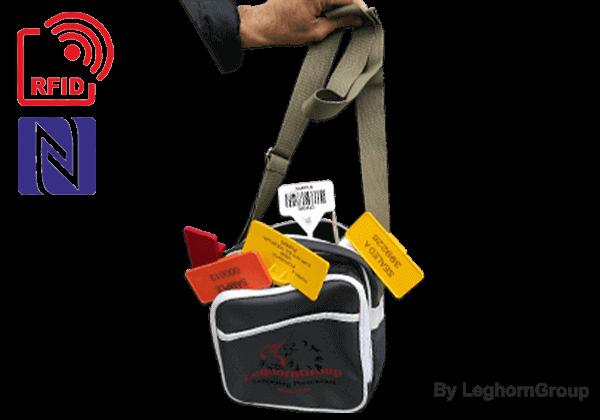 """""""KEFALONIA""""-tas, Complete Set RFID-veiligheidszegels"""